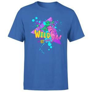 T-shirt La Famille Delajungle Wild - Bleu - Homme