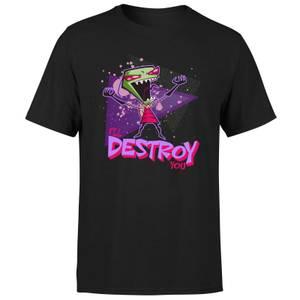 Invader Zim I'll DESTROY You Men's T-Shirt - Black