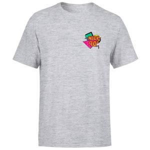 Nickelodeon NICK 90s Men's T-Shirt - Grey