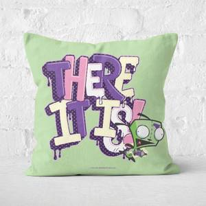Invader Zim Gir! Square Cushion