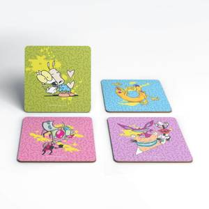 Nickelodeon Coaster Set