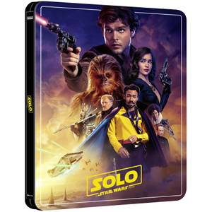 Solo: A Star Wars Story – Zavvi Exclusive 4K Ultra HD Steelbook (3 Disc Edition includes Blu-ray)