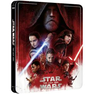 Star Wars Episode VIII: Die letzten Jedi - Zavvi Exklusives 4K Ultra HD Steelbook (3 Disc Edition inkl. Blu-ray)