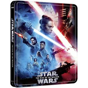Star Wars Episode IX: The Rise of Skywalker - Zavvi Exclusive 4K Ultra HD Steelbook (3 Disc Edition includes Blu-ray)