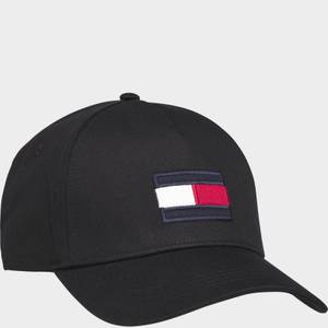 Tommy Hilfiger Men's Big Flag Cap - Black
