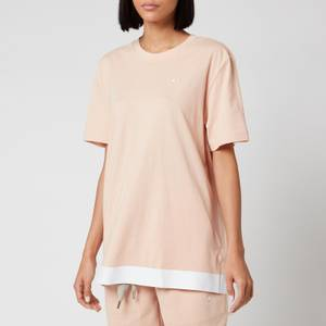 adidas by Stella McCartney Women's Cotton T-Shirt - Soft Powder