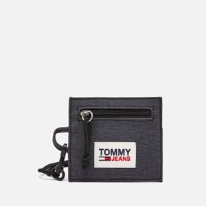 Tommy Jeans Men's College Tech Card Holder - Black