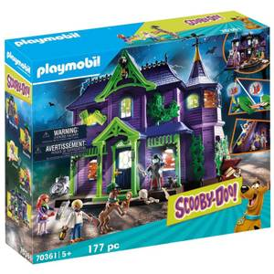 Playmobil Scooby Doo! Mystery Mansion (70361)