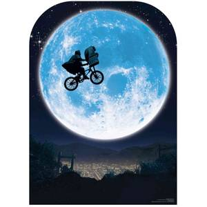 E.T. Full Moon Bicycle Scene Setter Lifesized Cardboard Cut Out