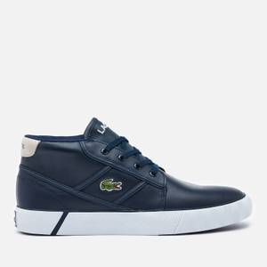 Lacoste Men's Gripshot Chukka 01201 Leather Trainers - Navy/Off White