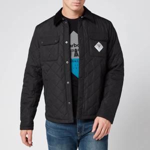 Barbour Beacon Men's Aken Quilt Jacket - Black