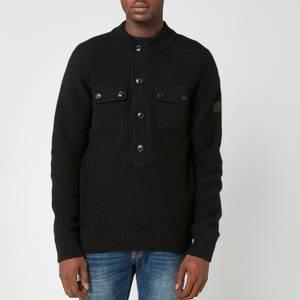 Barbour International Men's Calibrate Half Zip Sweatshirt - Black