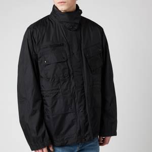 Barbour International Men's Motor Shirt Jacket - Black