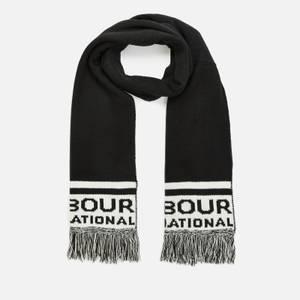 Barbour International Men's Fleet Knit Scarf - Black