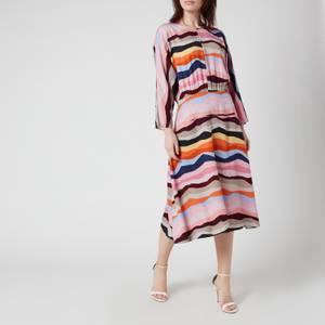 PS Paul Smith Women's Printed Stripe Dress - Multi