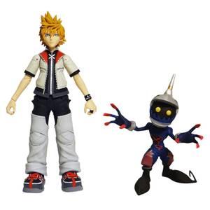 "Diamond Select Kingdom Hearts - Roxas & Soldier 6"" Action Figure"