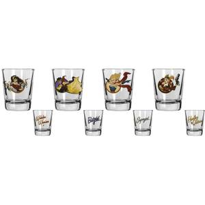 DC Comics DC Universe Shot Glasses Set of 4 Bombshell