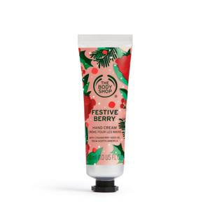 The Body Shop Hand Cream Festive Berry