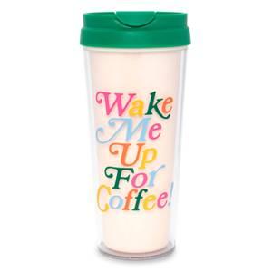 Ban.do Hot Stuff Thermal Mug - Wake Me Up For Coffee