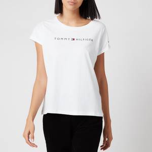 Tommy Hilfiger Women's Tommy Original Short Sleeve T-Shirt - White