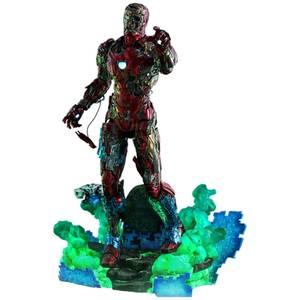 Hot Toys Spider-Man : Far From Home MMS PVC Figurine articulée échelle 1/6 Illusion Iron Man de Mysterio 32 cm