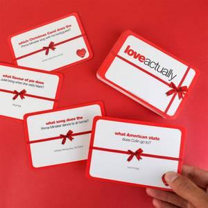 Love Actually Trivia Cards