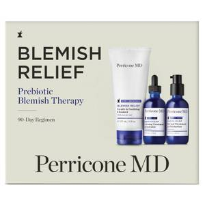 Perricone MD Blemish Relief Prebiotic Blemish Therapy 90 Day Regimen Kit (Worth £122.00)