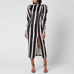 ROTATE Birger Christensen Women's Theresa Dress - Black Comb