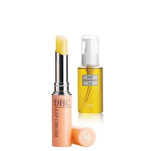 DHC Deep Cleansing Oil and Lip Cream Set