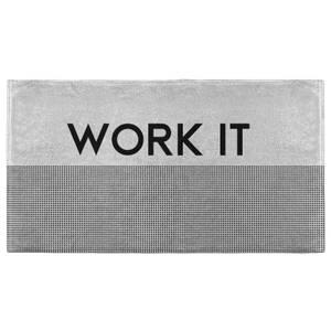 Work It Neutral Fitness Towel