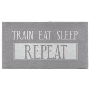Train Eat Sleep Repeat Fitness Towel
