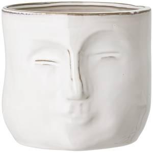 Bloomingville Face Flower Pot - White