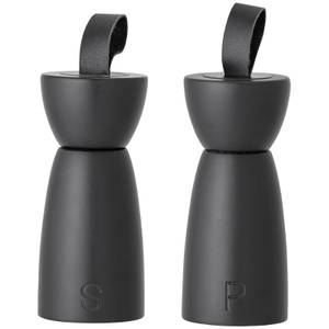 Bloomingville Rubberwood Salt & Pepper Mill - Black