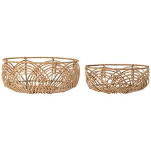 Bloomingville Rattan Basket - Set of 2
