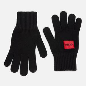 HUGO Men's Waff Gloves - Black