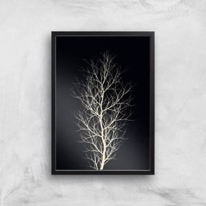 Kubistika The Tree Giclee Art Print