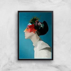 Kubistika Kimono Giclee Art Print