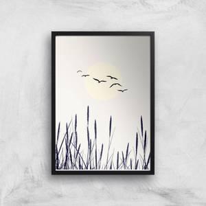 Kubistika Shadows Of The Sun Giclee Art Print