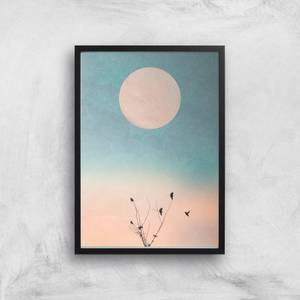 Kubistika Waking Up Warm Giclee Art Print