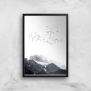 Kubistika The Mountains Giclee Art Print