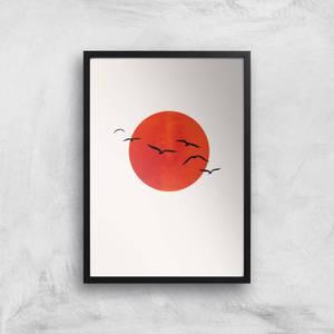 Kubistika A Sunny Day Giclee Art Print
