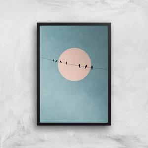 Kubistika The Beauty Of Silence Giclee Art Print