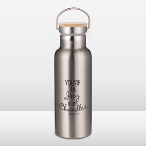 Friends You're The Joey To My Chandler Portable Insulated Water Bottle - Steel