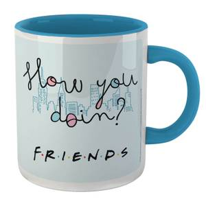 Friends How You Doin Mug - White/Blue