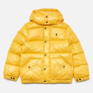 Polo Ralph Lauren Boys' Padded Jacket - Yellow