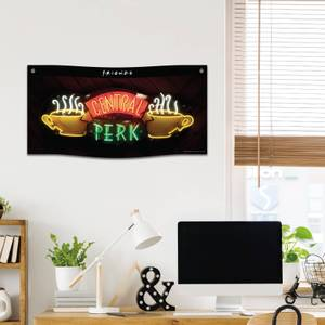 Friends Central Perk Wall Banner