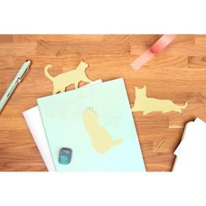 Cat Shaped Sticky Notes