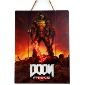 Doctor Collector DOOM Eternal Wood Art - Limited Edition