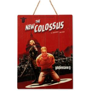 Doctor Collector Wolfenstein Colossus Wood Art - Limited Edition