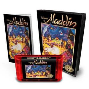Aladdin Legacy Cartridge - Sega Genesis (US Cartridge) - UK and EU exclusive